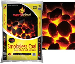 20kg Smokeless Coal for Open Fires & Multi-fuel Stoves: Amazon.co.uk