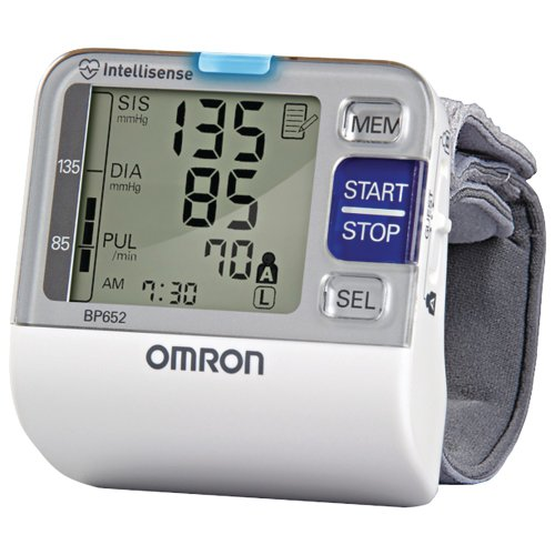 Omron Bp652 7 Series Blood Pressure Wrist Unit