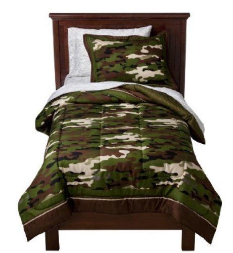 Full Size Camo Bedding 8953 front