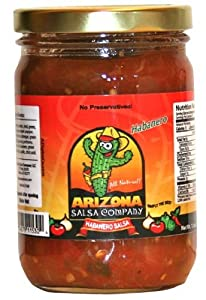 Habanero Salsa- All Natural - Rich and thick with no added water by Arizona Salsa Company