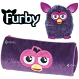 Official Furby Plush Barrel Pencil Case