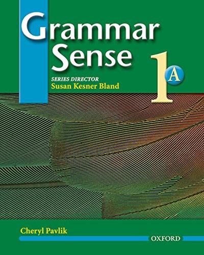 Grammar Sense 1 A: Student's Book: Student Book Level 1