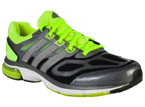 reputable site website for discount pretty cheap Adidas Mens Supernova Sequence 6 Running Shoes Black Silver ...