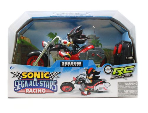 NKOK Sonic and Sega All-Stars Racing Remote Controlled Car: Shadow The Hedgehog (Shadow Hedgehog Game compare prices)