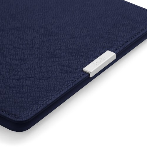 Imagen de Amazon Kindle Paperwhite Cubierta de cuero, tinta azul (no cabe Kindle o Kindle Touch)