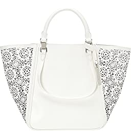 Vince Camuto Tylee Tote, Snow White Maizy Perf, One Size