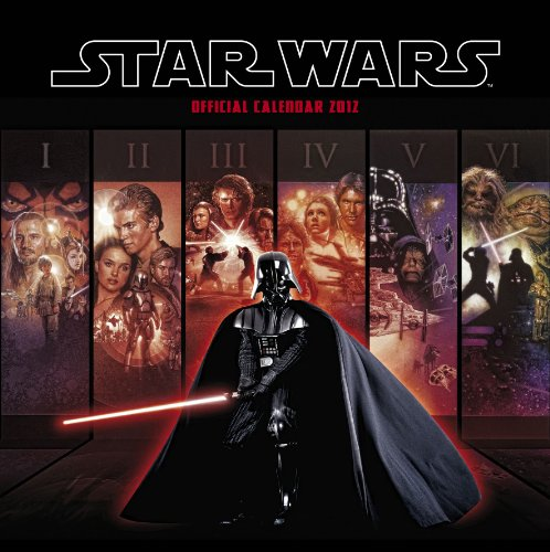 Official Star Wars Classic Calendar 2012