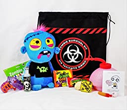 \'I Can\'t Think of Anyone I\'d Rather Survive the Zombie Apocalypse With!\' - Candy & Toy Gift Basket