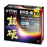 TDK 録画用DVD-R CPRM対応 16倍速対応 ホワイトワイドプリンタブル 超硬シリーズ 10枚パック DR120HCDPWC10A