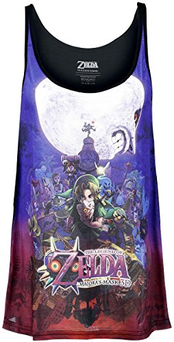 The Legend of Zelda Majoras Mask Top donna multicolore XL