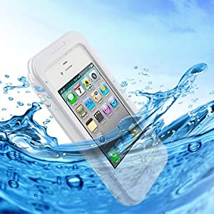 KooPower Custom Waterproof Case Apple iPhone 5 5S 4S Touch Protector Hard Tough Mount Shockproof Case Dirt Snow Proof Cover Underwater IPX-8 6 Meter - Sports Beach Swimming