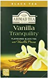Ahmad Tea Vanilla Tranquility (Pack of 1, Total 20 Aluminium Foil Envelopes)