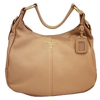 PRADA Handtasche beige Buckskin PRHB5025: Amazon.de: Bekleidung