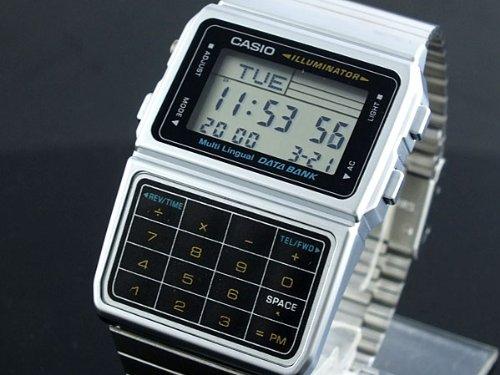 [カシオ]CASIO 腕時計 データバンク DATA BANK DBC611-1 ユニセックス 【逆輸入】