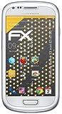 atFoliX Displayschutzfolie für Samsung Galaxy S3 mini (GT-I8190) (3 Stück) - FX-Antireflex: Displayschutz Folie antireflektierend! Höchste Qualität - Made in Germany!