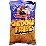 Andy Capp's Cheddar Potato Fries 3 OZ (85g)
