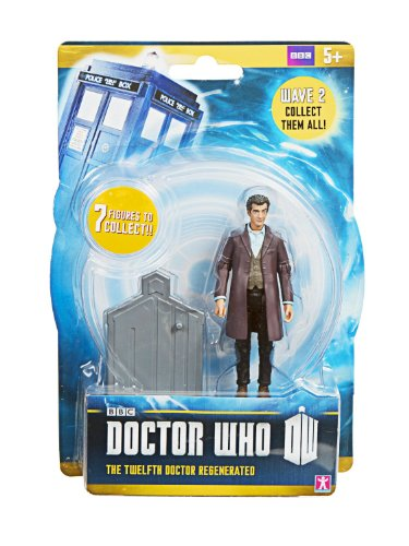"Doctor Who Wave 2 - The Twelfth Doctor Regenerated - 3.75"" Figure - Ages 5+"