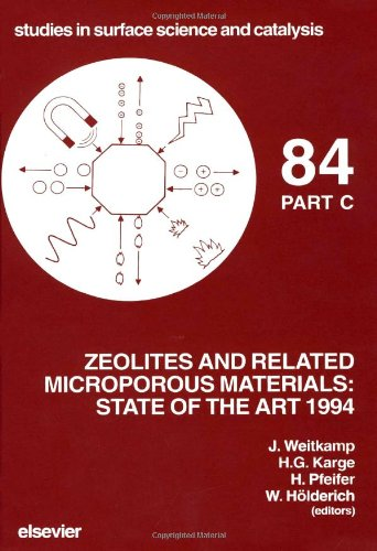 Zeolites and Related Microporous Materials: State of the Art 1994 (Three Volume Set)