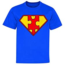 Vintage Super Autism Youth T-Shirt