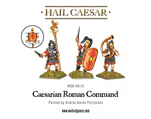 Warlord Games Hail Caesar Caesarian Roman Command Late Republican Army Infantry - 1
