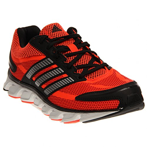 Adidas Performance Men's Powerblaze M Running Shoe, Solar Red/Metallic/Silver/Black, 9 M US
