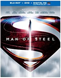 Man of Steel (Blu-ray+DVD+UltraViolet Combo Pack)