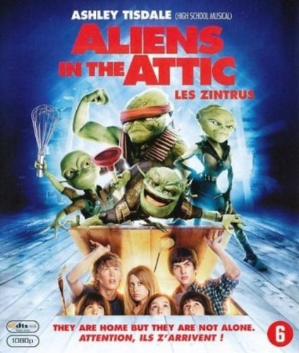 Les Zintrus (Aliens In The Attic) [Blu-ray] [Import belge]
