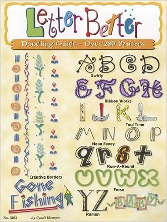Letter Better (DO #5061) (Design Originals) written by Cyndi Hansen