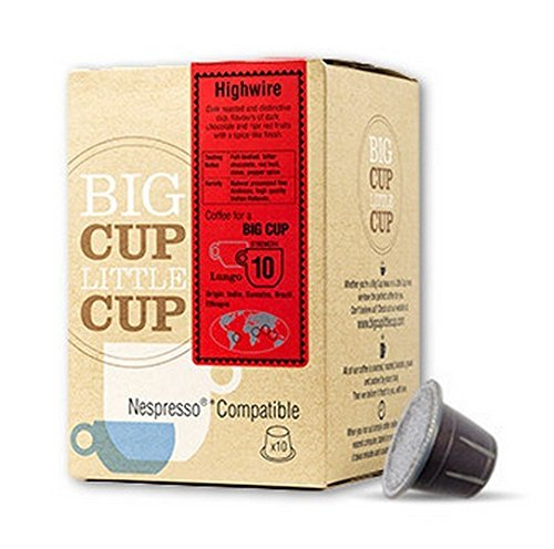 Order BigCupLittleCup High Wire Coffee Capsule, 10 Piece by CafePod