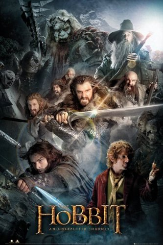 "GB Eye - Poster - The Hobbit ""An Unexpected Journey"" 61x92cm - 5028486200757"