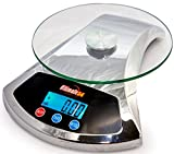 Ultimate54 Digital Kitchen and Food Scale Multifunction 22lb Capacity with  ....