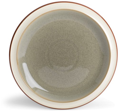 Denby Fire Sage/Cream Salad Plate