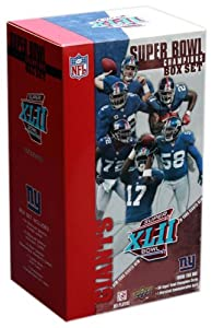 New York Giants Super Bowl XLII Champions Upper Deck Commemorative Box Set by Upper Deck