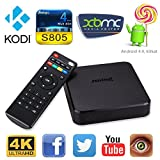 Android Tv Box Kodi Xbmc Fully Loaded 1080p Amlogic S805 Quad Core 1GB/8GB 4k IPTV OTT TV Root H.265-JUNING 7X Smart Media Player