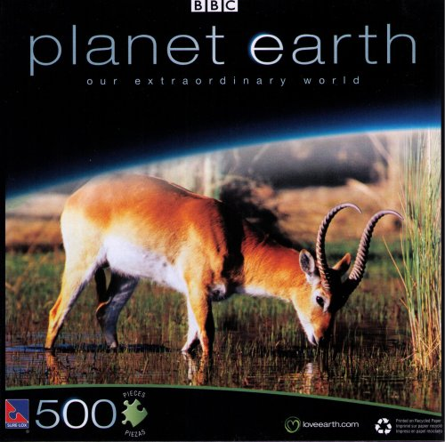 Planet Earth BBC 500 Pc. Puzzle - Red Lechwe