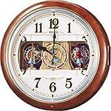 SEIKO CLOCK (セイコークロック) 掛け時計 ウエーブシンフォニー 電波時計 ツイン・パ からくり RE559H