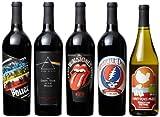 Wines that Rock Rock Till You Drop Mixed Pack, 5 x 750 mL