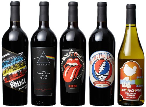 Wines That Rock Wines that Rock Rock Till You Drop Mixed Pack, 5 x 750 mL