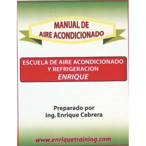 Manual De Aire Acondicionado Ing. Enrique Cabrera  Books