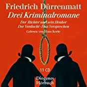 H&ouml;rbuch Drei Kriminalromane