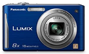 Panasonic DMC-FH25A 16.1MP Digital Camera with 8x Wide Angle Image Stabilized Zoom and 2.7 inch LCD (Blue)