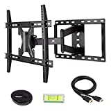 Mounting Dream MD2295 TV Wall Mount Bracket with Full Motion Articulating Arm for most of 42-70-Inches LED, LCD and Plasma TVs up to VESA 600x400mm and 78lbs