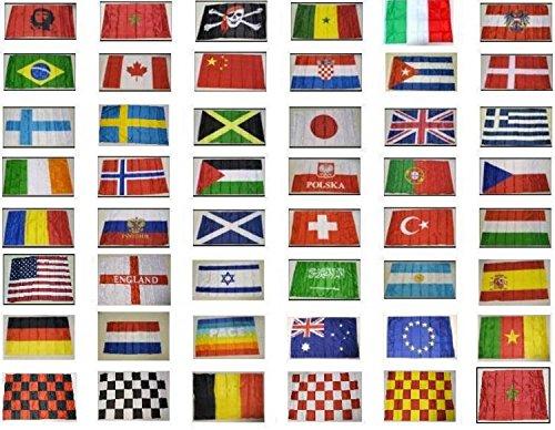 10 bandiere bandiera collezione alberghi stabilimenti diverse stati nazionali
