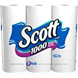 Scott, Regular Roll, 1 Ply, White-9pk