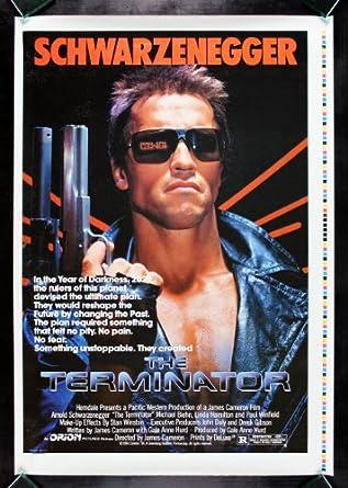 THE TERMINATOR * CineMasterpieces HALF SUBWAY PRINTERS PROOF MOVIE