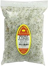 Marshalls Creek Spices Refill Pouch Sea Salt with Italian Seasoning XL 36 Ounce