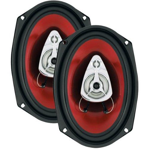"Boss Audio Ch6930 Chaos Series Speakers (6"" X 9""; 3-Way Speaker)"