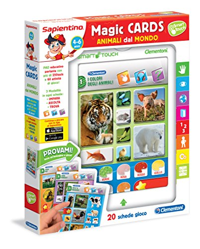 Clementoni 13273 - Sapientino Magic Cards Animali