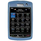 Amzer 82463 Silicone Skinelly Case - Light Blue For BlackBerry Storm 9500