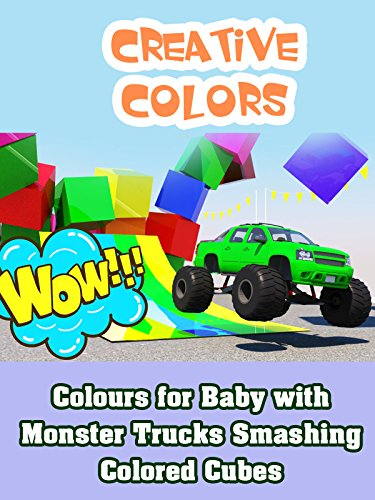 Colours for Baby with Monster Trucks Smashing Colored Cubes on Amazon Prime Video UK